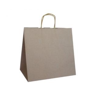 Bolsa de papel con asa retorcida 28x16x29