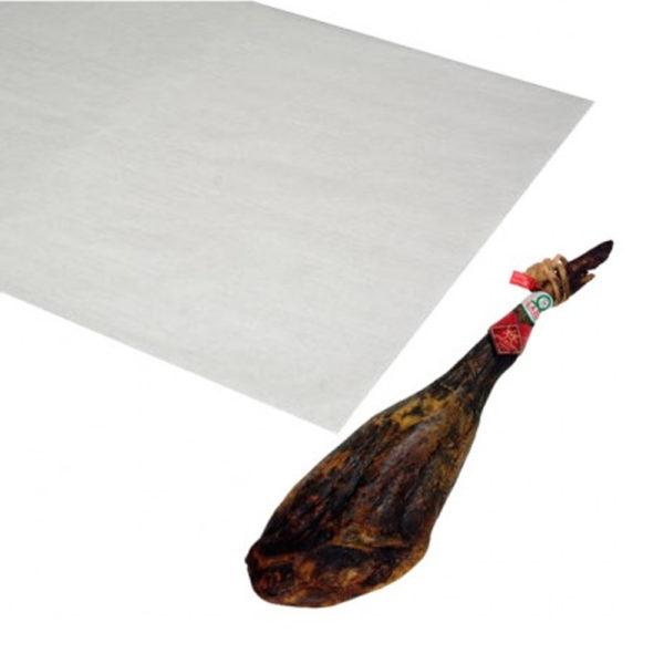 Papel antigrasa para envolver jamones 70x100 mm