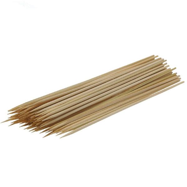 Palillos redondos de madera para pinchos y brochetas