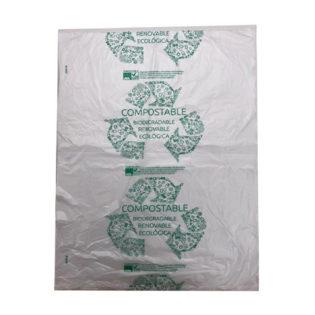 Bolsa bloc compostable 40x47 G60  (10paq. X 200bs)
