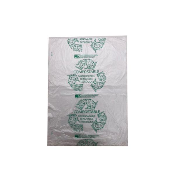 Bolsa bloc compostable 27x35 G50  (10paq. X 300bs)