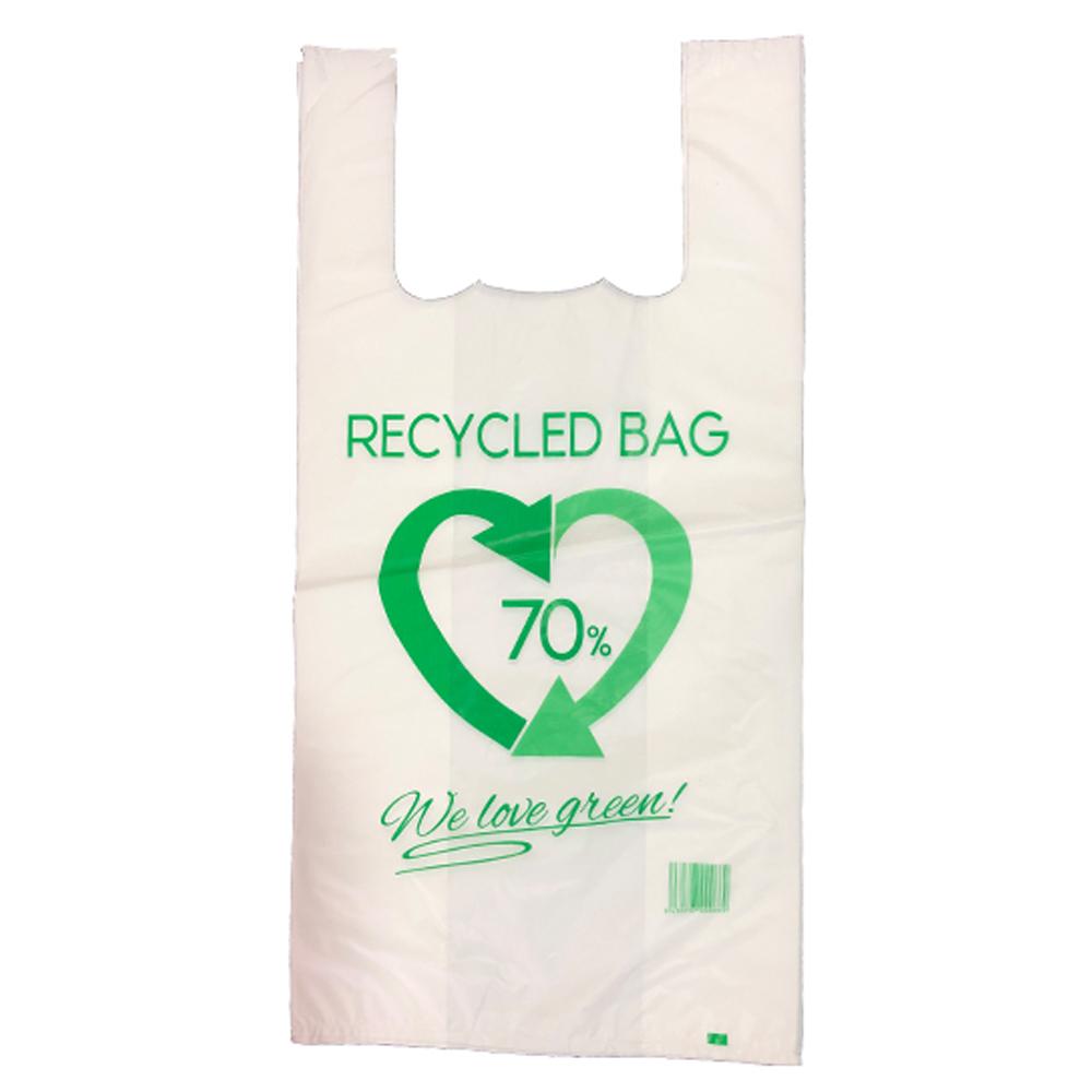 Bolsas de Asas 70% reciclado