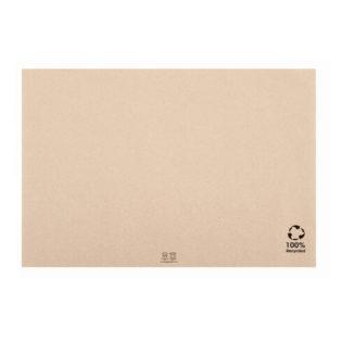 Mantel papel 100% reciclado 31x43 cm. Beige