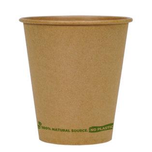 Vaso infusión 100% cartón kraft 360ml. Ø 90mm.