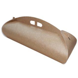 Caja cartón Kraft rectangular Venecia para brazos bandas
