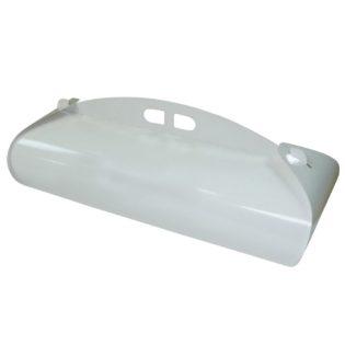 Caja cartón blanca rectangular Venecia para brazos bandas
