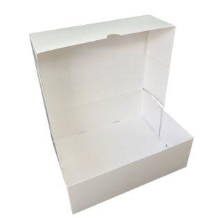 Caja para pastas blanca rectangular orleans 2