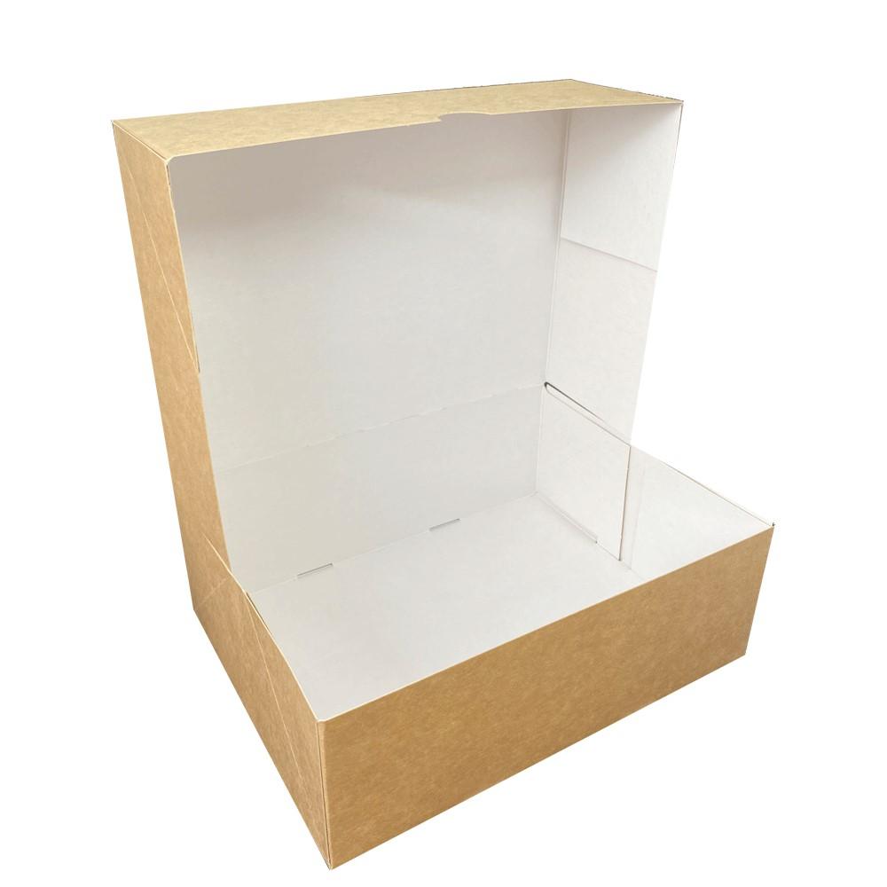 Caja para pastas kraft rectangular orleans