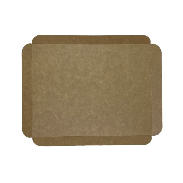 Cubeta cartón base kraft rectangular para pastelería Lyon