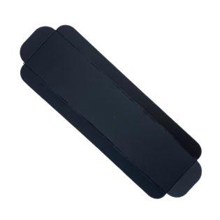 Cubeta cartón base negra rectangular para brazos y bandas Venecia